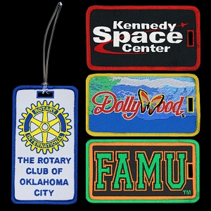 Standard Embroidered Luggage Tags
